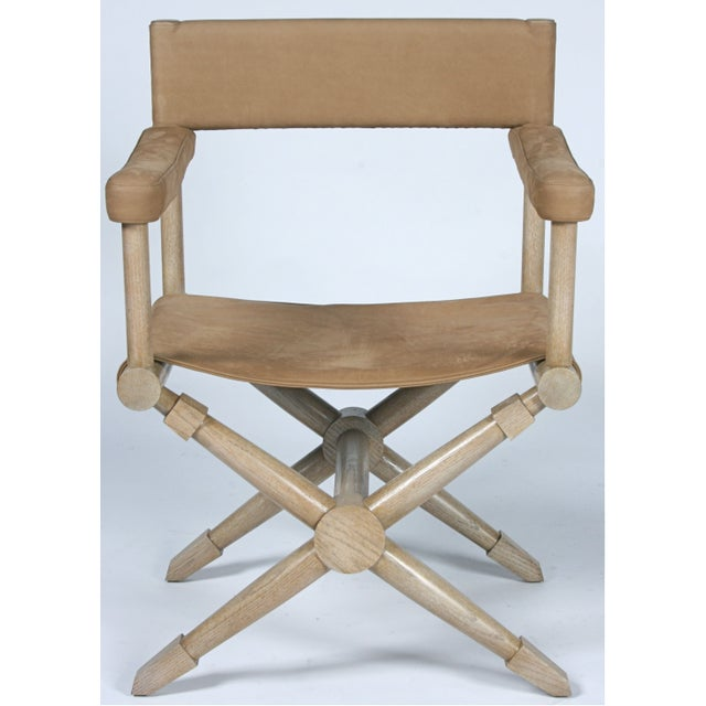 And Action! You call the shots in this buttery soft pair of suede director's chairs. Designed with two things in mind:...