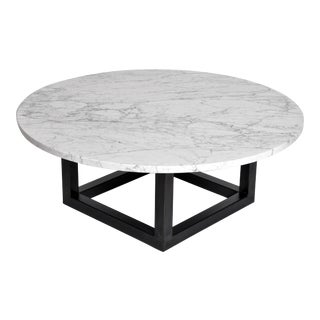 Round Marble Coffee Table For Sale