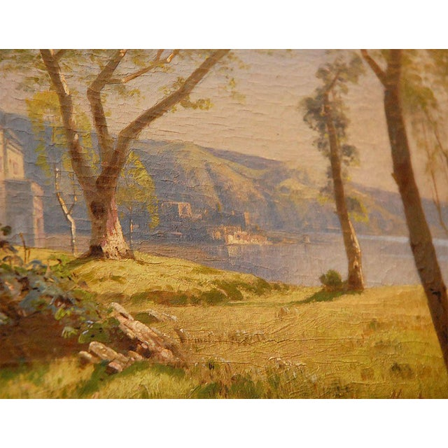 Mid 19th Century 19th Century Oil Painting For Sale - Image 5 of 8