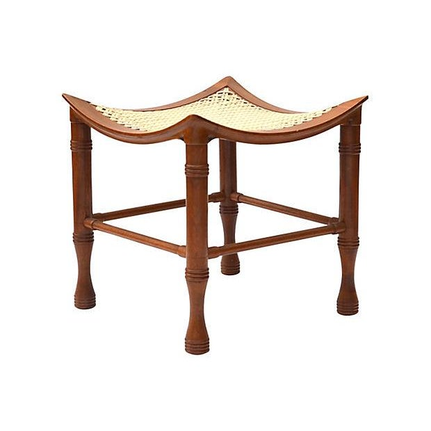 Early 20th Century Liberty & Co. Thebes Stool For Sale - Image 5 of 5