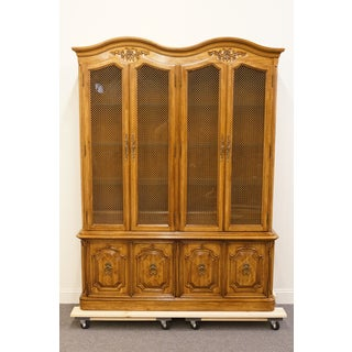 20th Century French Country Thomasville Camille China Cabinet Preview