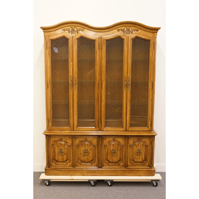 Thomasville Camille china cabinet. We specialize in high end used furniture that we consider to be at least an 8 on a...