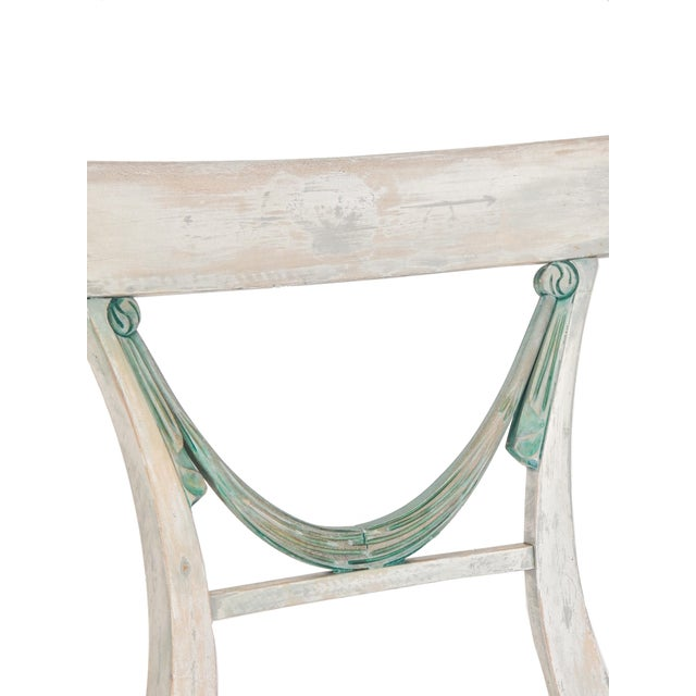 Set of Four Gustavian Style Chairs For Sale - Image 4 of 10
