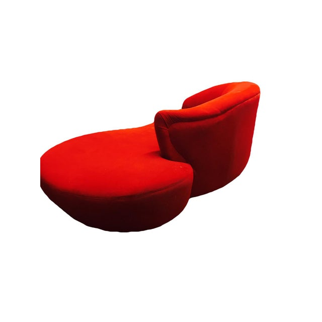 Vladimir Kagan Style Cloud Sofa For Sale - Image 10 of 12