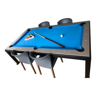 Fusion Billiards and Dining Table For Sale
