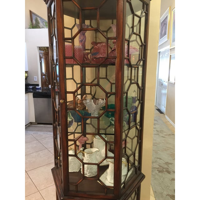 Made in Italy Curio Cabinet For Sale - Image 5 of 5