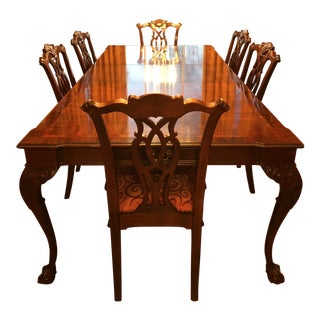 Century Mahogany Formal Dining Room Set For Sale