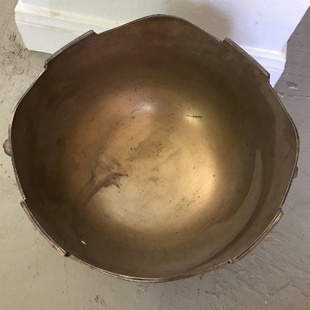 Vintage Silverplate Lion Handle Bowl - Image 5 of 5