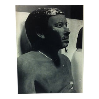 """Circa 1970 """"Rahotep"""" IV Dynasty Great Sculpture of Ancient Egypt Print For Sale"""