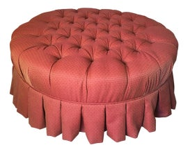 Image of Round Ottomans