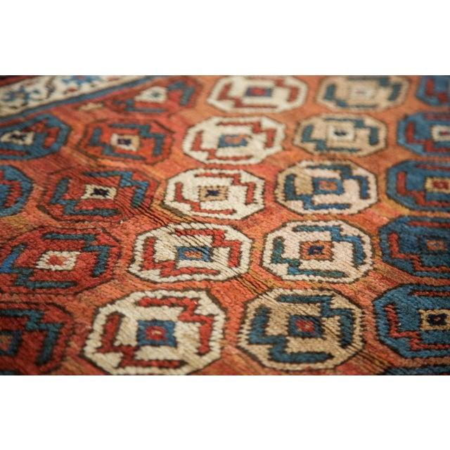 "Antique Caucasian Rug - 3'9"" X 6'11"" For Sale - Image 9 of 9"