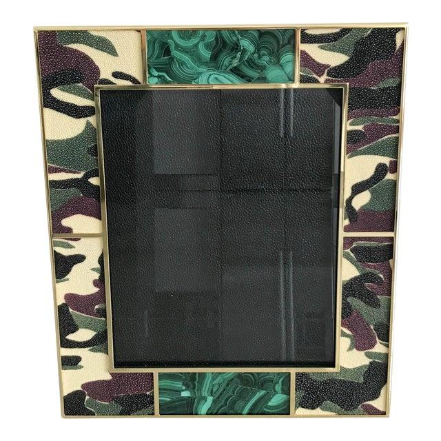 Camoflauge Shagreen Photo Frames For Sale