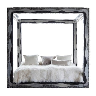 Paul Evans, Rare Custom Argente King Size Bed, USA, c. 1968 For Sale