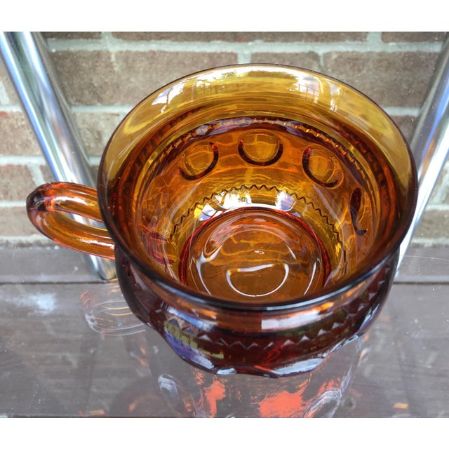 Vintage Amber Kings Crown Coffee Cups - Set of 20 - Image 5 of 6