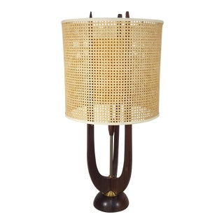 Modeline Style Sculptural Design Mid-Century Modern Table Lamp From WDesign Studio For Sale
