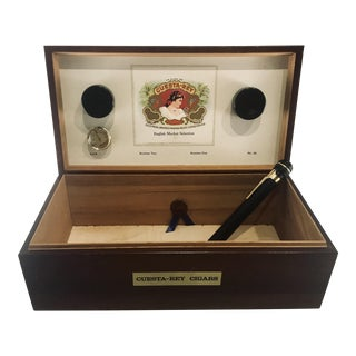 1980s Traditional Cuesta-Rey Cigar Humidor For Sale