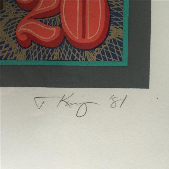 'Jackson 20' Framed Print by Tony King, 1981 - Image 8 of 10