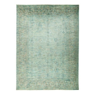 """Overdyed Hand Knotted Area Rug - 9'10"""" x 13'8"""""""