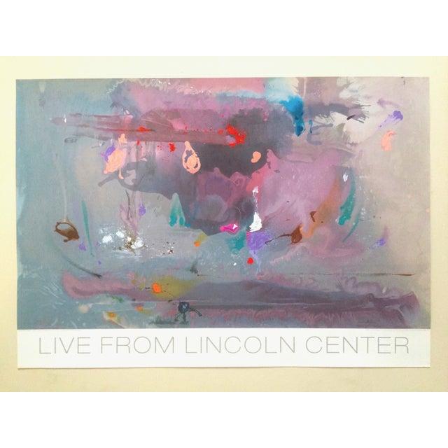"Helen Frankenthaler Rare Lmtd Edtn Original Hand Pulled Silkscreen Print "" Grey Fireworks "" 1982 For Sale - Image 13 of 13"