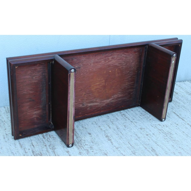 Harvey Probber Resin Top Modernist Coffee Table For Sale - Image 10 of 11