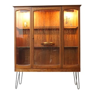 Mid-Century Walnut Bookcase