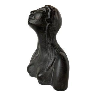 1940s Vintage Carlo Alberto Rossi Bucchero Italian Nude Sculpture For Sale