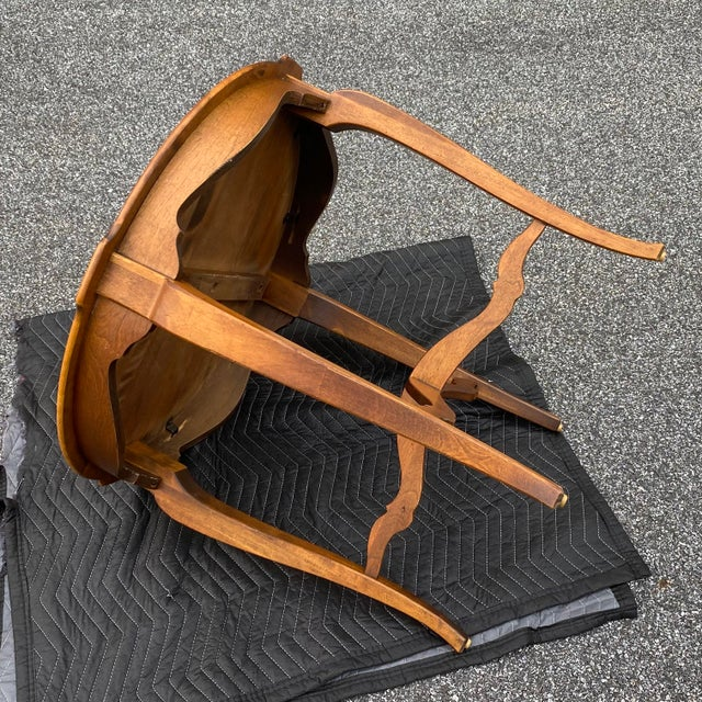 Late 20th Century Ethan Allen Country French Side Table For Sale - Image 5 of 12
