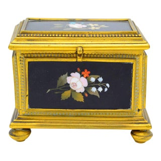 Ormolu-Mounted Jewelry Casket For Sale