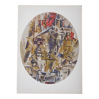 1964 Vintage Braque Lithograph for Derriere Le Miroir For Sale