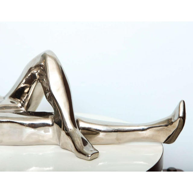 Jaru 1970s Jaru Space Age Silver Sculpture For Sale - Image 4 of 8
