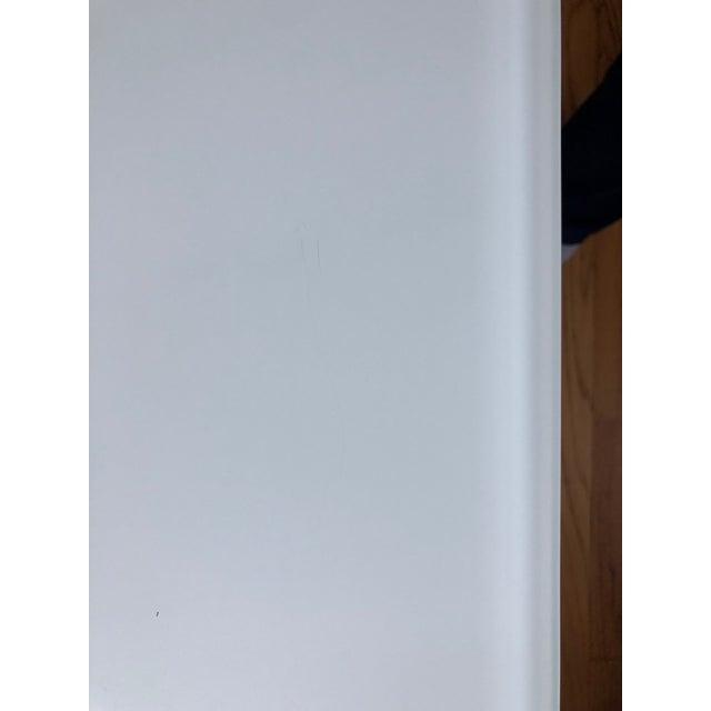 White Room and Board Custom Pratt Table For Sale - Image 8 of 10