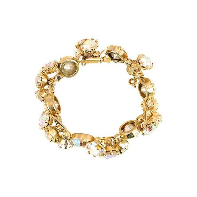 1950s Vogue Ab Crystal Bracelet Set, 1950s For Sale - Image 5 of 8