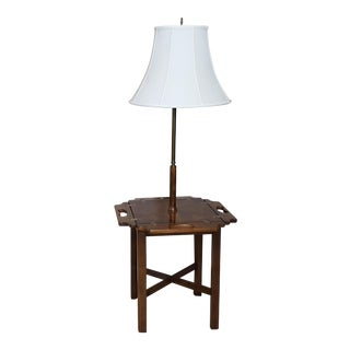 Vintage Knob Creek Mid Century Table Floor Lamp For Sale