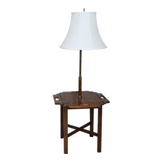 Vintage Knob Creek Mid Century Table Floor Lamp