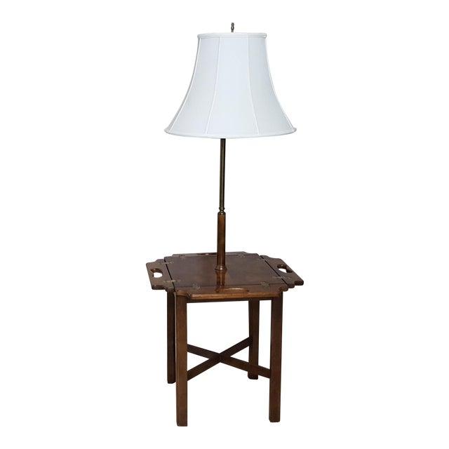 Vintage Knob Creek Mid Century Table Floor Lamp For Sale