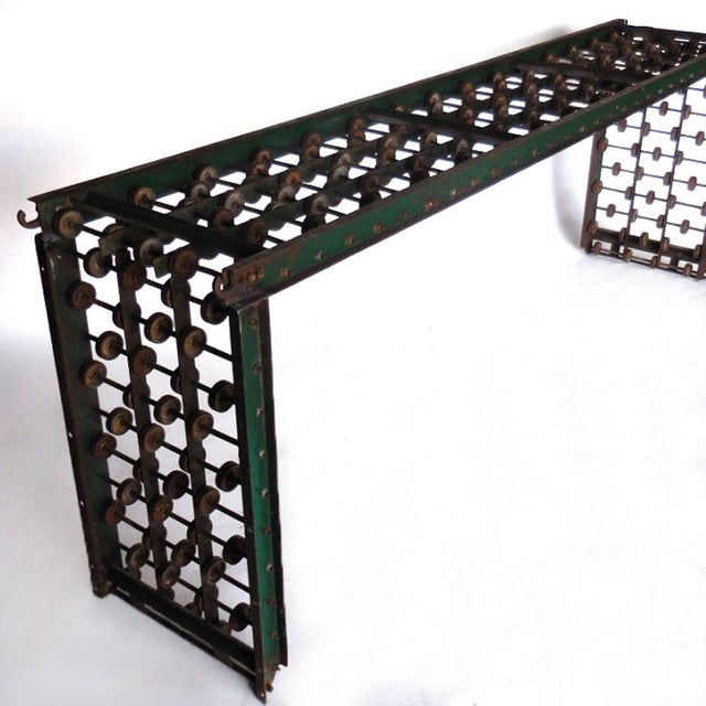 Metal Metal Steampunk Console For Sale - Image 7 of 10