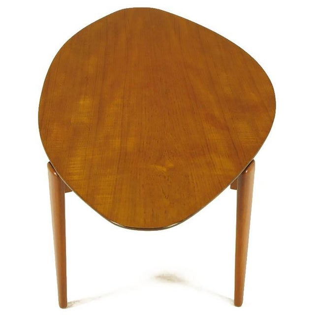 Double Parabola Teak Coffee Table in the Manner of Finn Juhl - Image 5 of 8