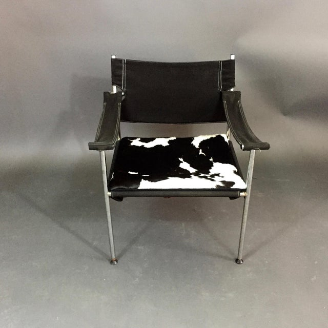 "Mid-Century Modern ""Irafas"" Safari Chair, Sigurd Ressell and Cato Mansrud, Norway, 1965 For Sale - Image 3 of 12"