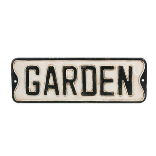 Distressed Garden Sign