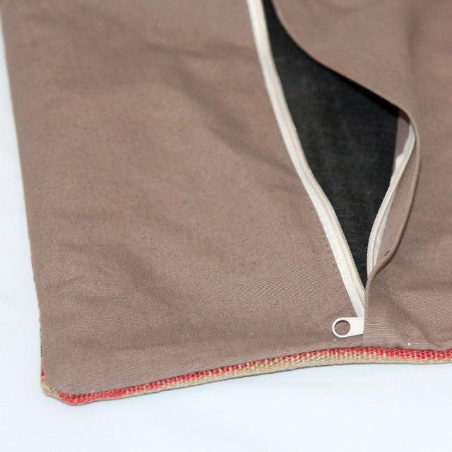 Turkish Handmade Kilim Pillow Cover - Image 5 of 8