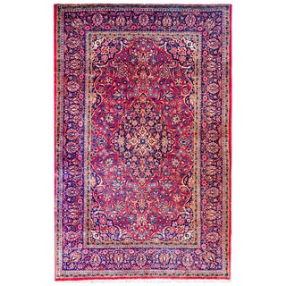 Early 20th Century Kashan Rug For Sale