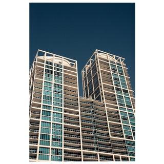 Miami Architecture Grid Building Photo Pigment Print For Sale