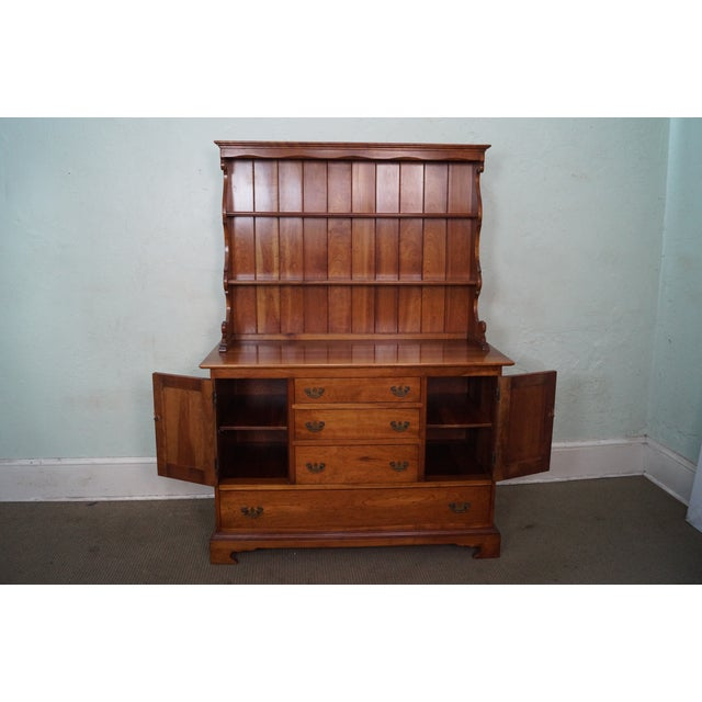 Stickley Vintage Cherry Open Hutch Cupboard - Image 5 of 10