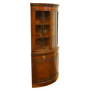 Drexel Heritage New Travis Court Collection Duncan Phyfe Corner Curio / China Cabinet Preview