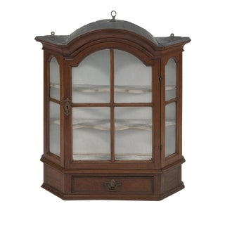 19th-Century Antique Dutch Hanging Cupboard For Sale