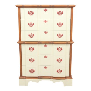 Chippendale Style Cream Dresser