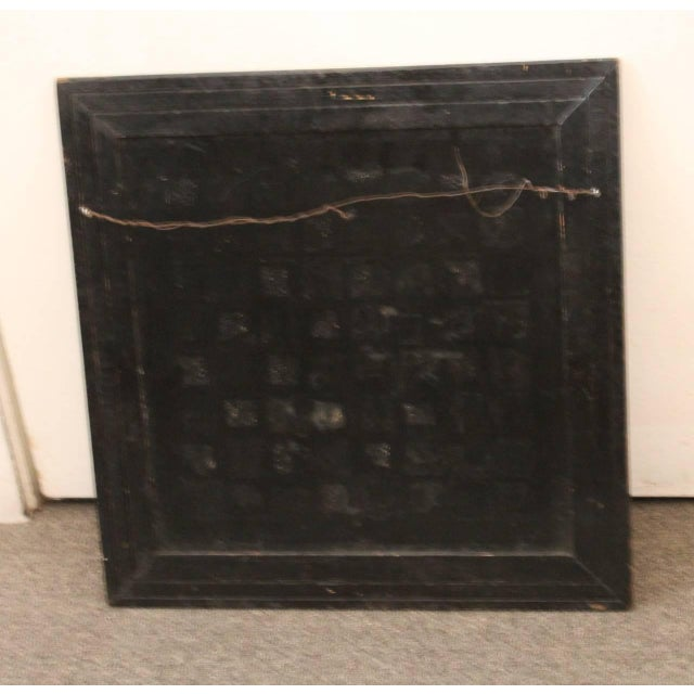 19th Century all Original Reverse Painted Gameboard with Hearts from Arkansas - Image 3 of 5