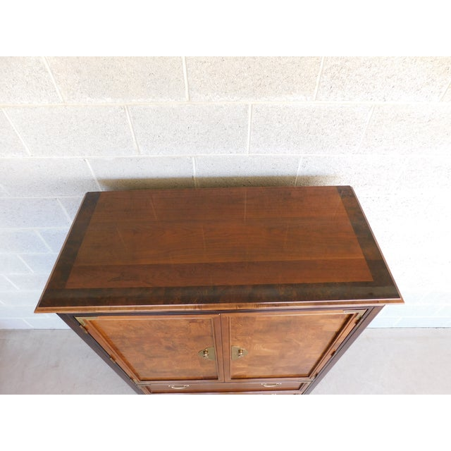 """Broyhill Premier """"Ming"""" Collection Armoire / Chest For Sale In Philadelphia - Image 6 of 13"""