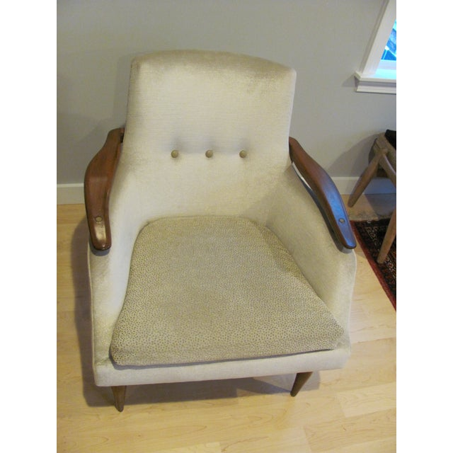 Vintage Mid Century Finn Juhl Style Lounge Chair For Sale In Providence - Image 6 of 13
