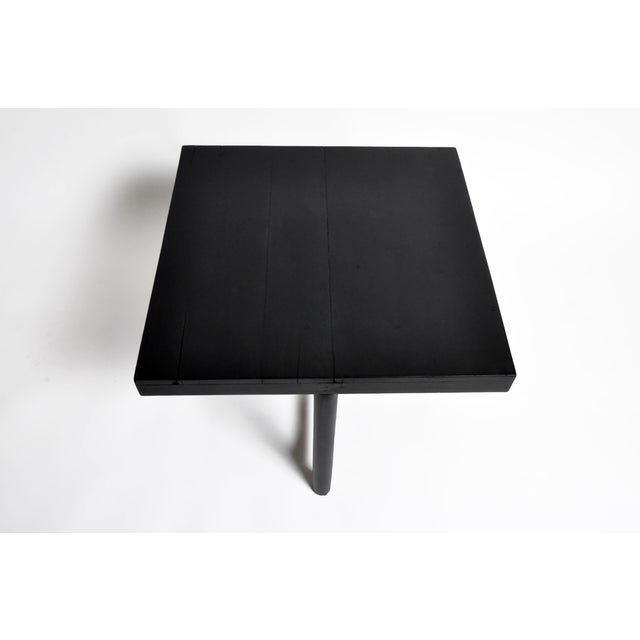 British Colonial Tea Table With Round Post Legs For Sale - Image 10 of 13